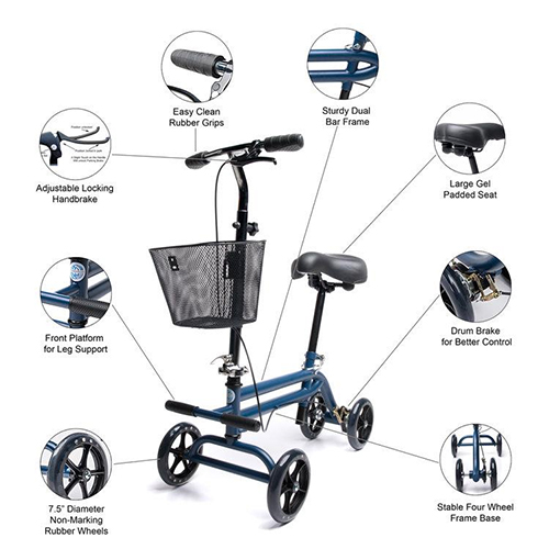 The Complete Guide to Knee walkers and Knee Scooters